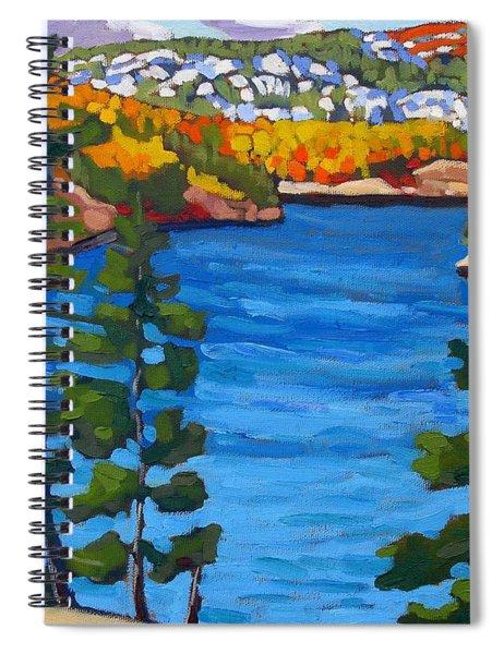Campsite 77 Spiral Notebook