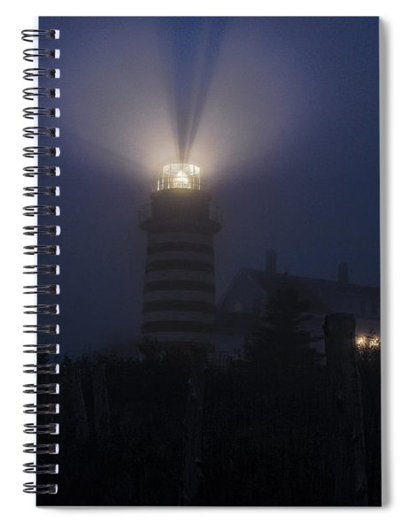 Can You Hear The Foghorn Spiral Notebook
