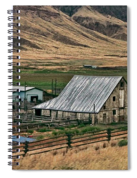 Canadian Farm Spiral Notebook