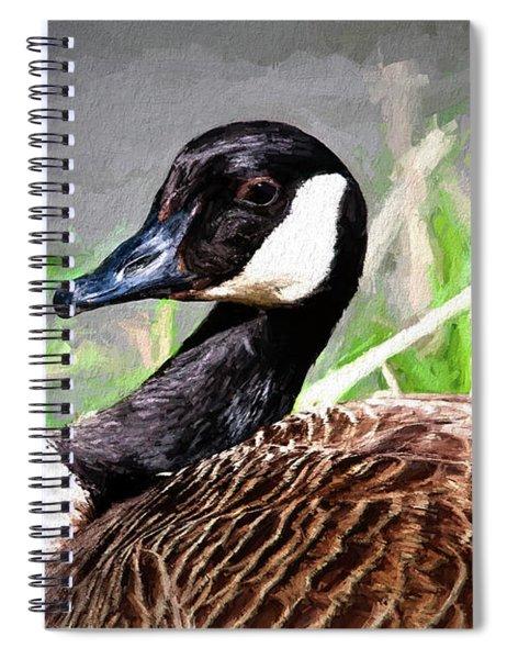 Canadian Goose Spiral Notebook
