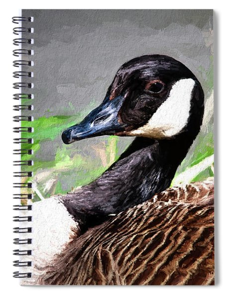 Canadian Goose Spiral Notebook