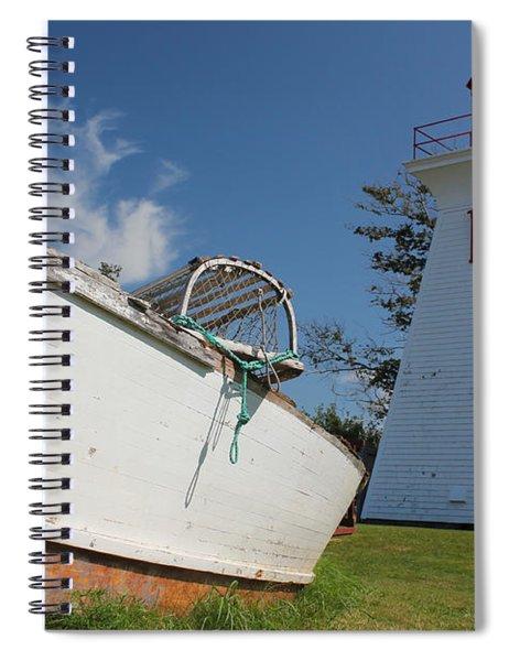 Canadian Maritimes Lighthouse Spiral Notebook