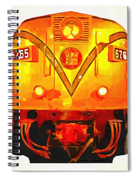 Canadian National Railways Spiral Notebook