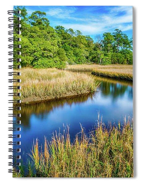 Canals Bend Spiral Notebook