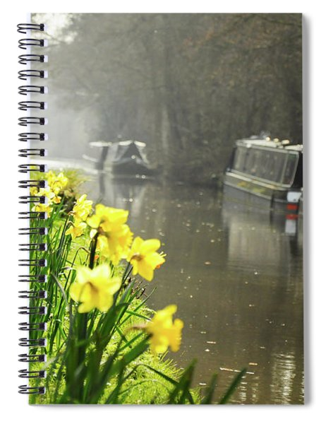 Canalside Daffodils Spiral Notebook