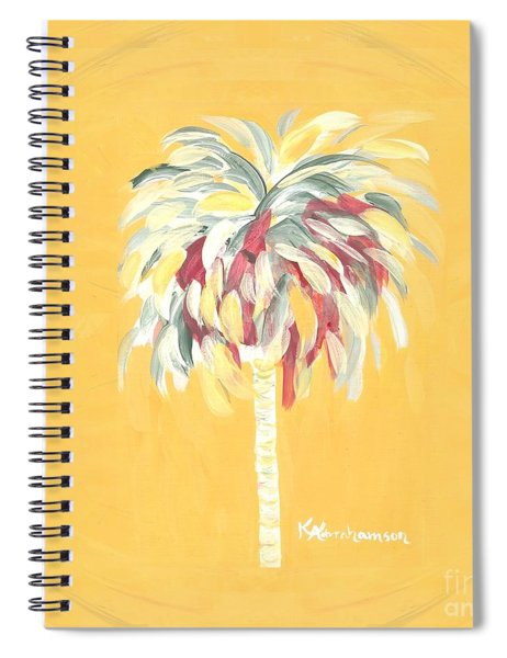 Canary Palm Tree Spiral Notebook