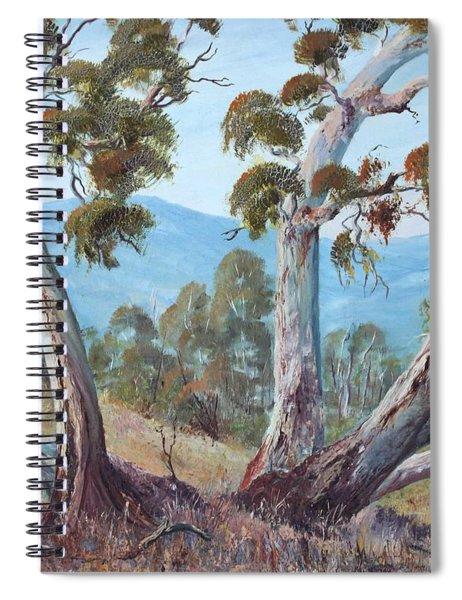 Canberra Hills Spiral Notebook