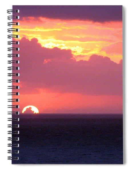 Sunrise Interrupted Spiral Notebook