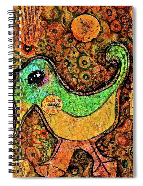 Candy Bird Spiral Notebook