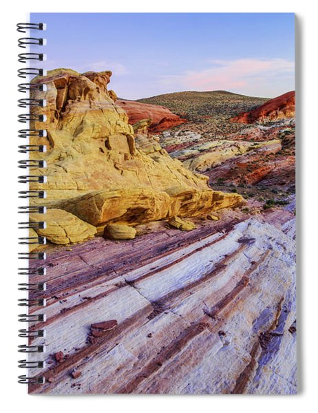 Candy Cane Desert Spiral Notebook