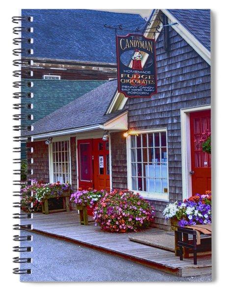 Candy Lane Spiral Notebook