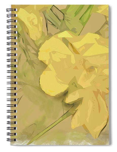 Spiral Notebook featuring the photograph Canna by Gina Harrison