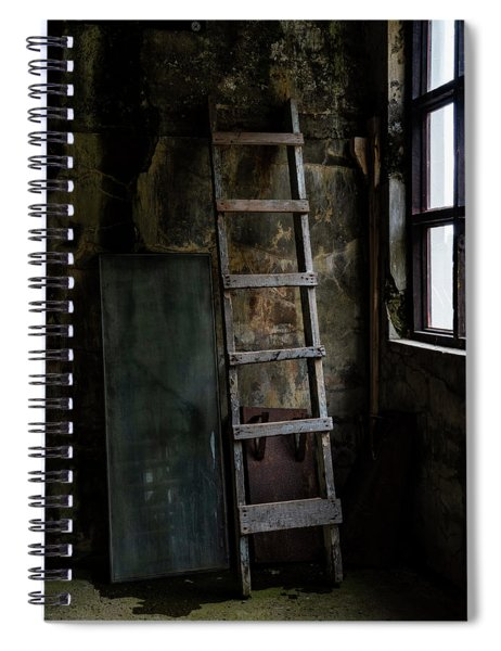 Cannery Ladder Spiral Notebook