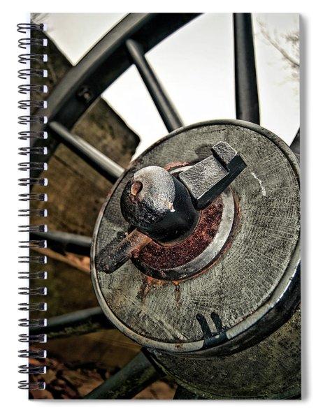Cannon Wheel Spiral Notebook