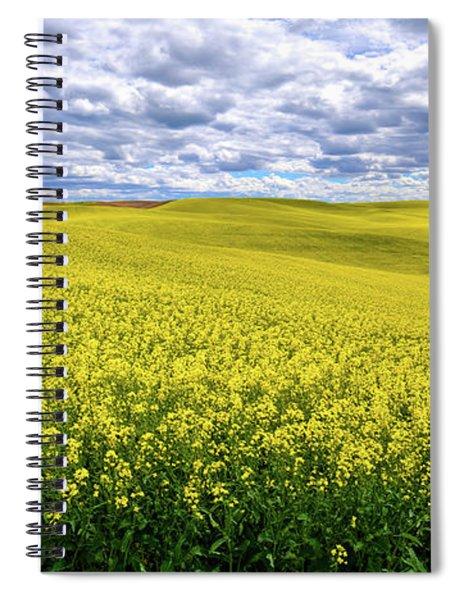 Canola On The Palouse Spiral Notebook