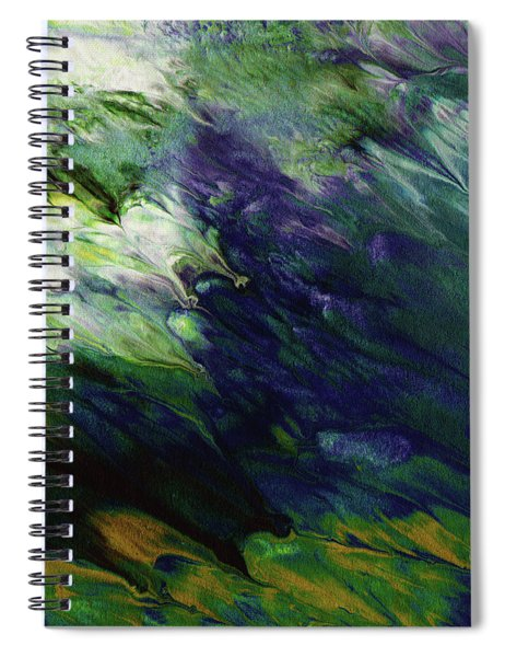 Canopy 3- Art By Linda Woods Spiral Notebook