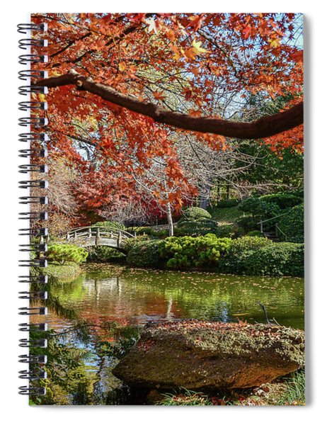 Canopy Of Fire Spiral Notebook