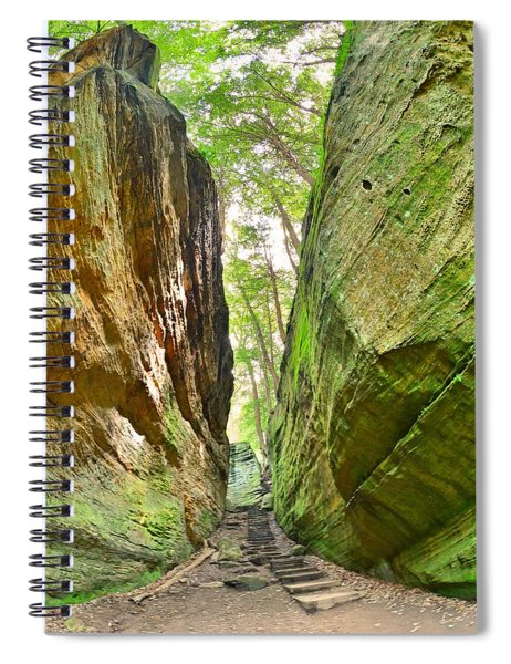 Cantwell Cliffs Trail Hocking Hills Ohio Spiral Notebook