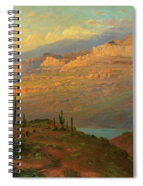 Canyon In Arizona Spiral Notebook