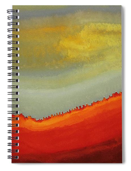 Canyon Outlandish Original Painting Spiral Notebook