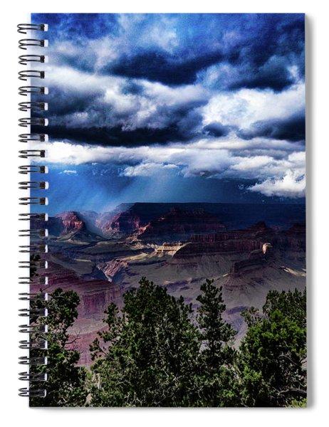 Canyon Rains Spiral Notebook