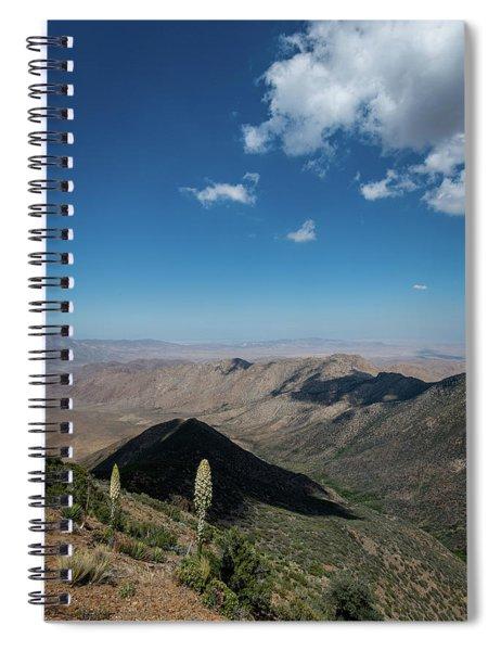 Canyon Shadows Spiral Notebook