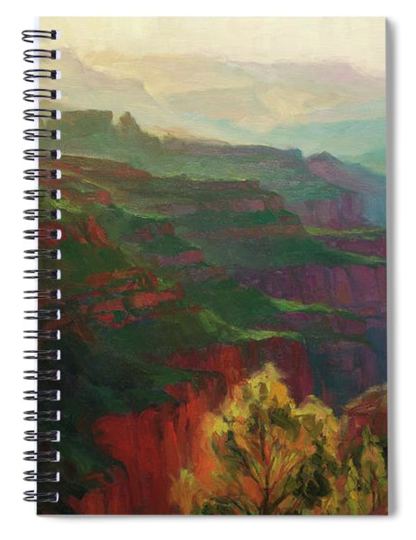 Canyon Silhouettes Spiral Notebook