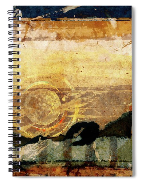 Canyon Walls Square Spiral Notebook