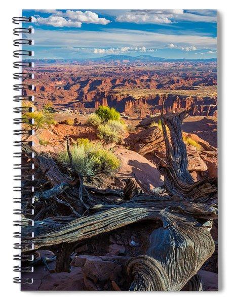 Canyonlands White Rim Spiral Notebook