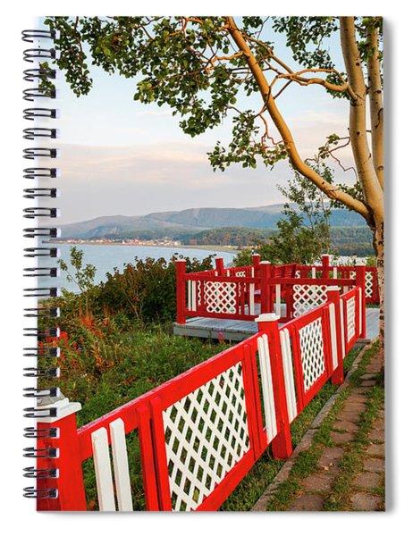 Cap-de-la-madeleine Lookout Spiral Notebook