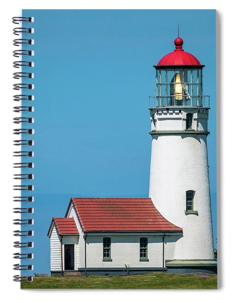 Cape Blanco Lighthouse At Cape Blanco, Oregon Spiral Notebook