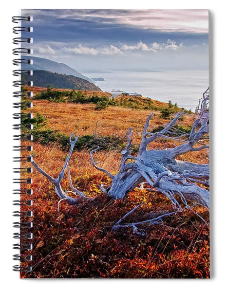Cape Breton Highlands Spiral Notebook