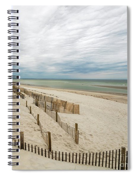 Cape Cod Bay Lookout Spiral Notebook