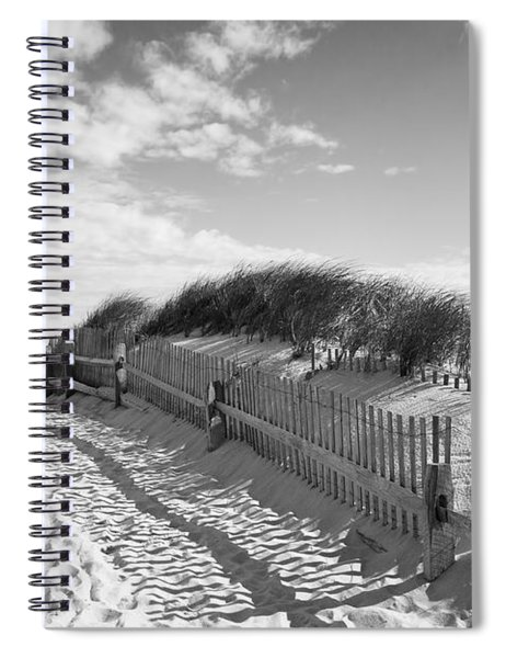 Cape Cod Beach Entry Spiral Notebook