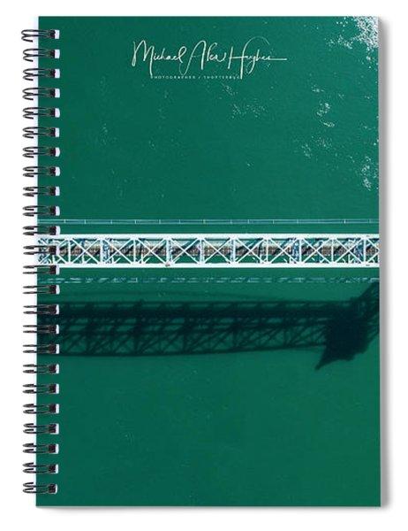 Cape Cod Canal Railroad Bridge Spiral Notebook
