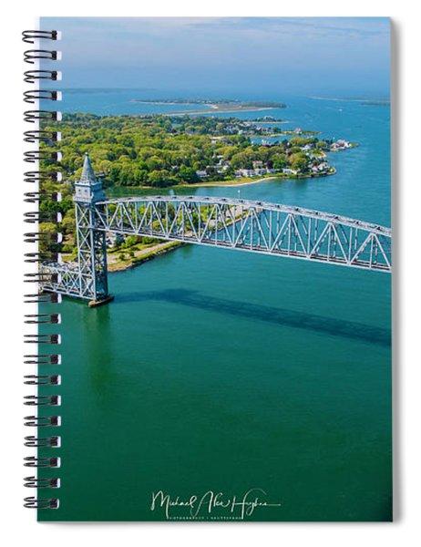 Cape Cod Canal Railroad Spiral Notebook