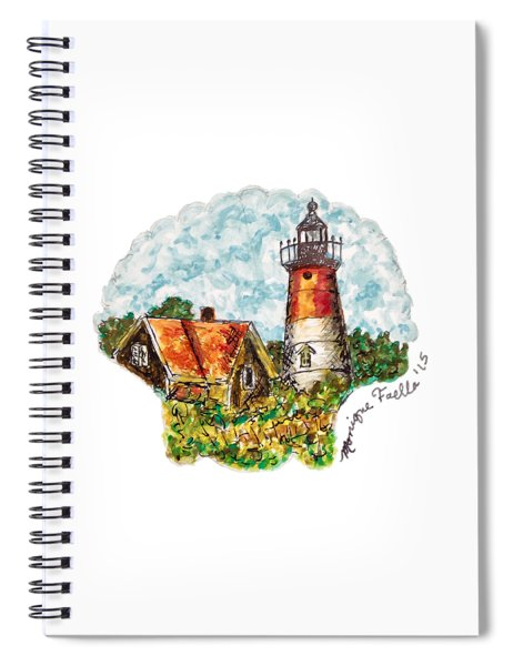 Cape Cod Lighthouse Spiral Notebook