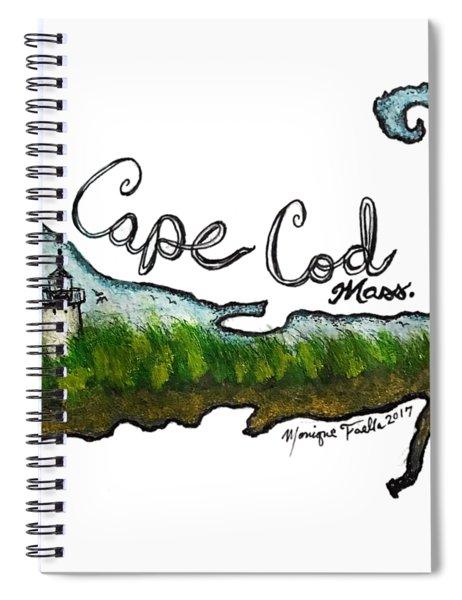 Cape Cod, Mass. Spiral Notebook