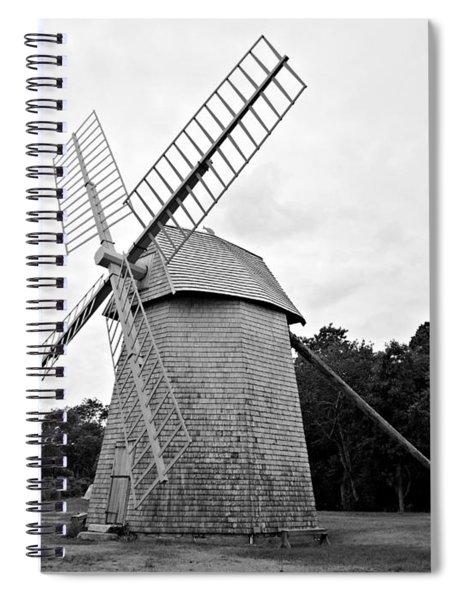 Cape Cod - Old Higgins Farm Windmill Spiral Notebook