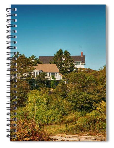 Cape Elizabeth Lighthouse Spiral Notebook