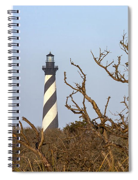 Cape Hatteras Lighthouse Through The Brush Spiral Notebook