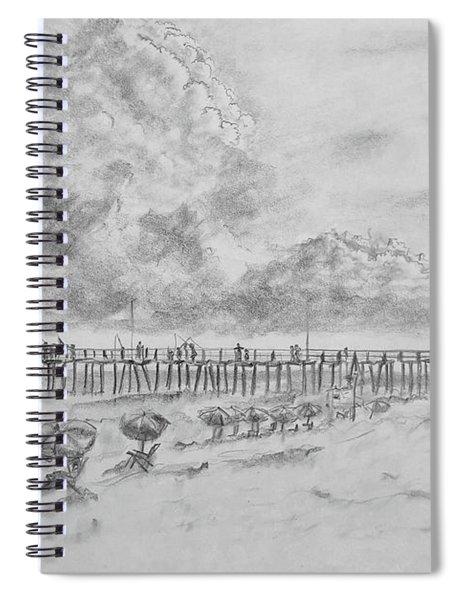 Cape Hatteras Summer Day Spiral Notebook