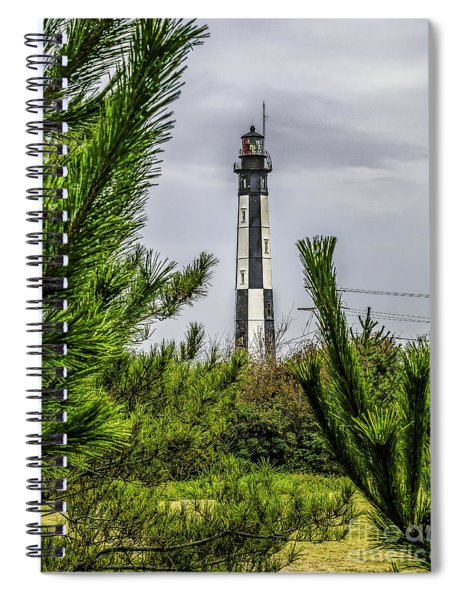 Cape Henry Light From The Dune Spiral Notebook