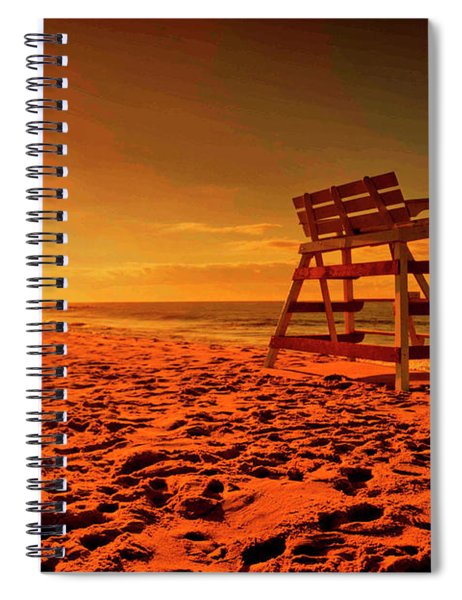 Cape May Sunset  Spiral Notebook