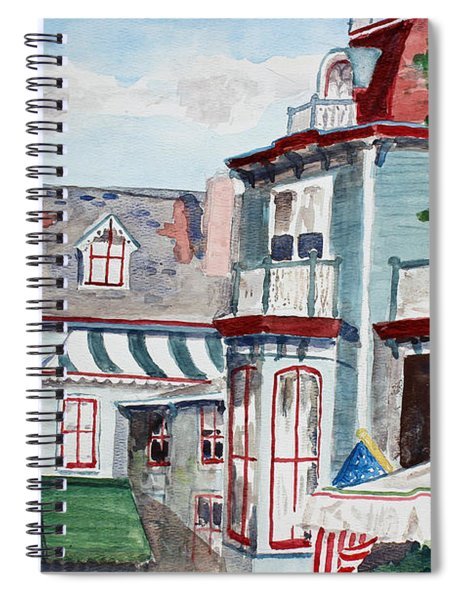 Cape May Victorian Spiral Notebook