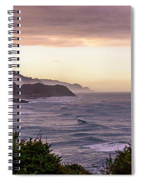 Cape Perpetua, Oregon Coast Spiral Notebook
