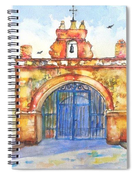Capilla Del Cristo Puerto Rico Spiral Notebook