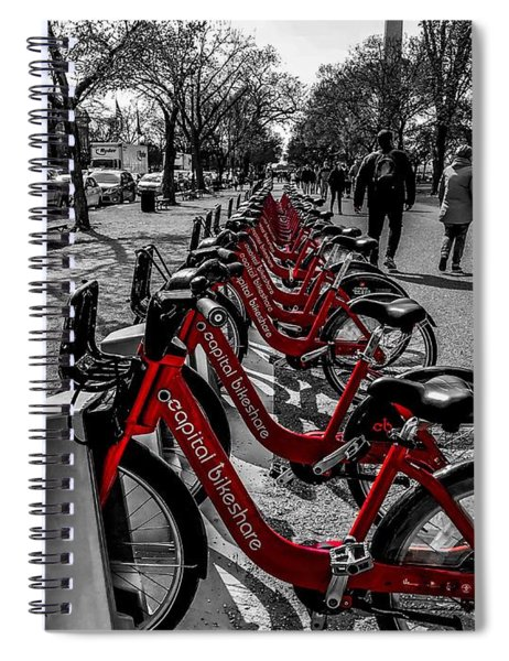 Capital Bikeshare Spiral Notebook