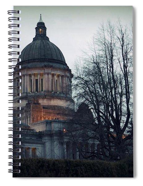 Capitol Aglow Spiral Notebook