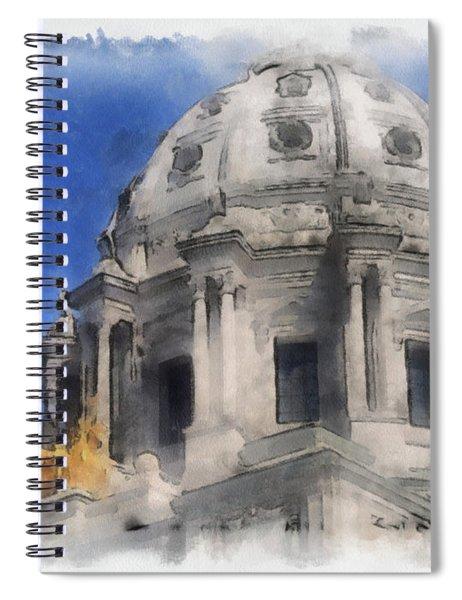 Capitol Dome St Paul Minnesota Spiral Notebook